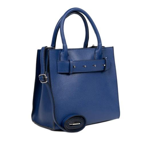 Geanta dama piele albastra GF2466