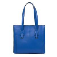 Geanta dama piele albastra GF2495