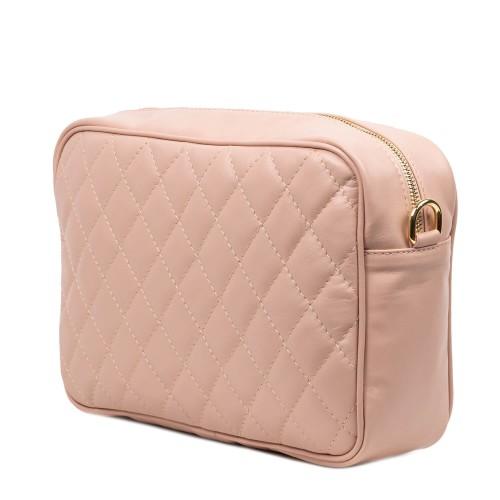 Geanta dama piele roz prafuit GF2551