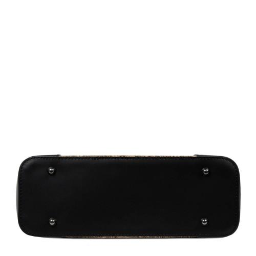Geanta piele neagra /paisley GF2645