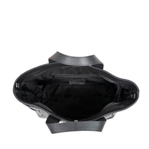 Geanta dama piele neagra GF2687