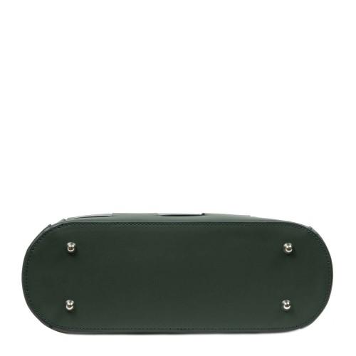 Geanta dama piele verde inchis GF2704