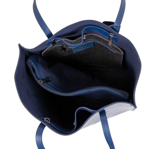 Geanta dama piele bleumarin GF2790