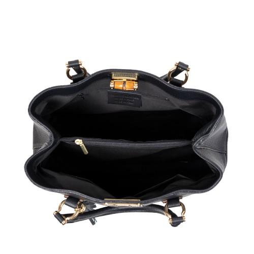 Geanta dama piele neagra GF2800