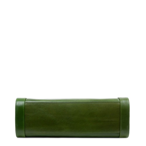 Geanta dama piele verde GF2841