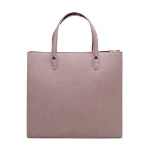 Geanta dama piele roz prafuit GF2860