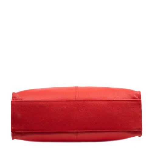 Geanta piele rosie GF2956