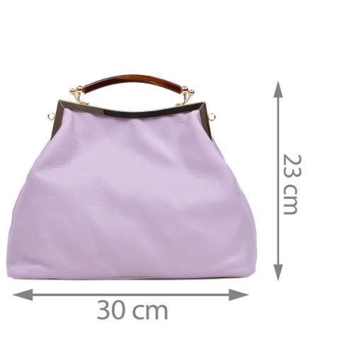 Geanta dama piele violet GF2975
