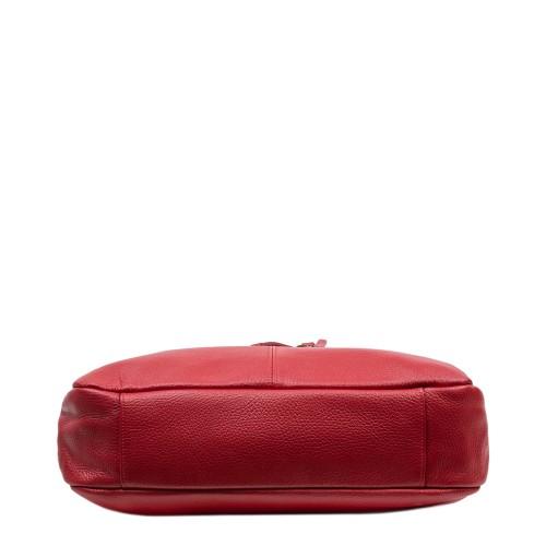 Geanta dama piele rosu inchis GF2980