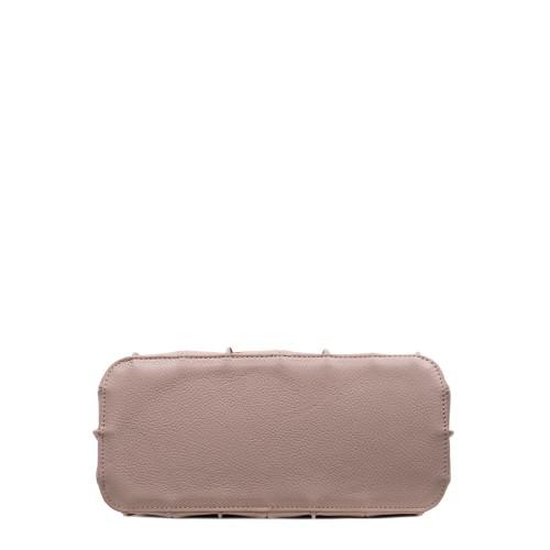 Geanta dama piele roz prafuit GF2988