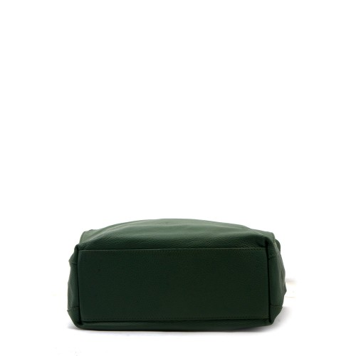 Geanta piele verde GF351 Genti Femei