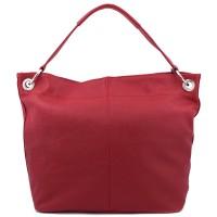 Geanta piele rosie GF439Genti Femei