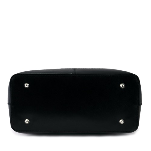 Geanta piele neagra GF489