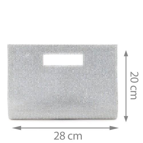 Plic  argintiu GF527