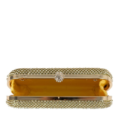 Plic auriu cu strasuri GF529
