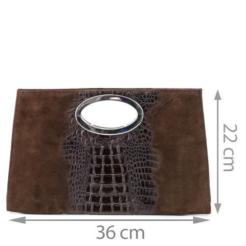 Plic piele maro GF536