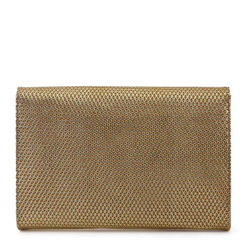 Plic piele auriu GF552 Gentute si Plicuri