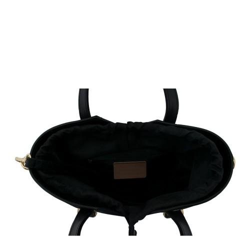 Geanta piele neagra GF598
