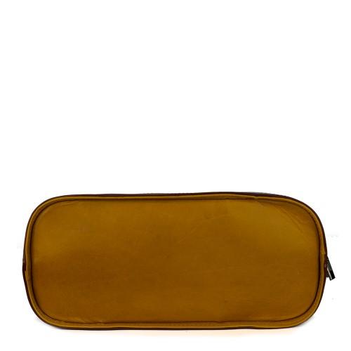 Geanta piele naturala galben-oranj GF733 Genti Dama