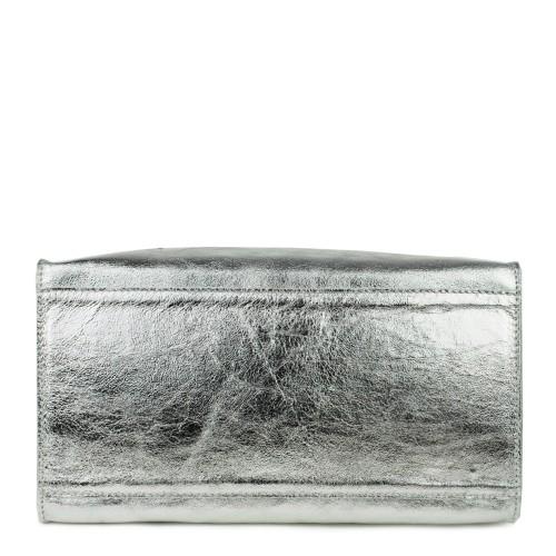 Geanta piele silver GF791- Genti femei