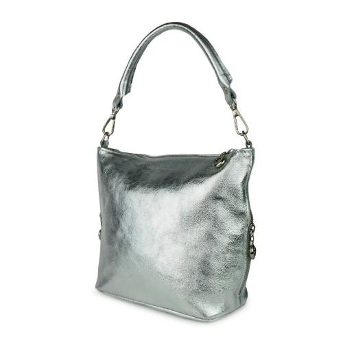 Gentuta piele silver GF823- Genti femei