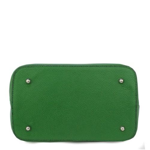 Geanta piele verde GF827- Genti Femei