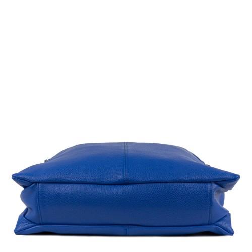Geanta piele albastra GF829