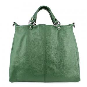 Geanta piele verde GF830- Genti Femei