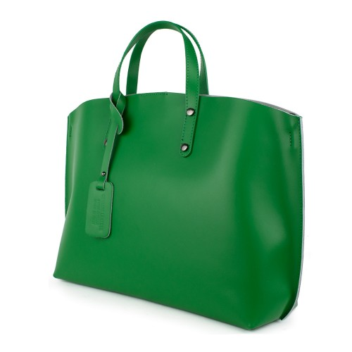 Geanta piele verde GF875 Genti Dama