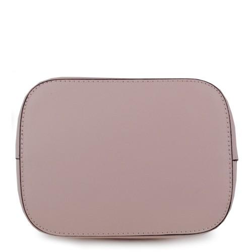 Gentuta piele naturala roz pal GF878 Genti Dama