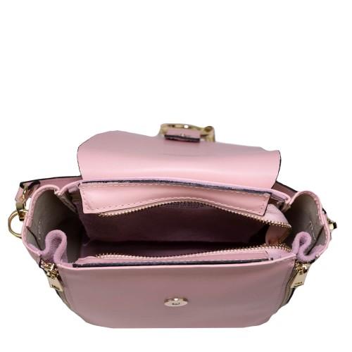 Gentuta piele naturala roz pal GF878