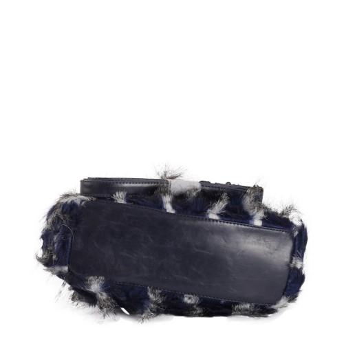 Geanta - Plic cu blana pufoasa Model GFE022