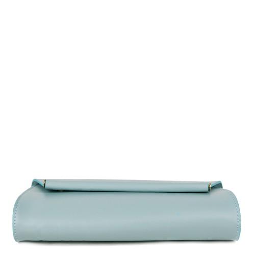 Plic dama piele bleu GF1021