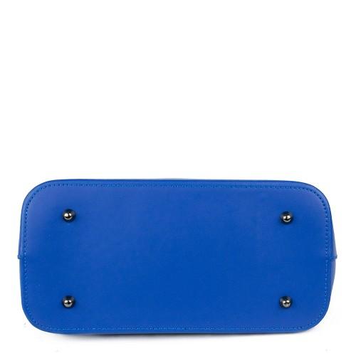 Geanta piele albastru electric GF1040