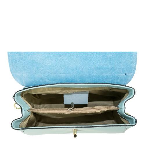 Geanta dama piele bleu GF1053