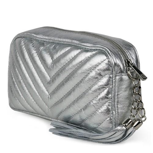 Gentuta dama piele silver GF1059