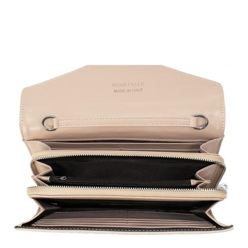 Plic piele matlasata roz pal GF1065