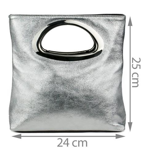 Gentuta piele silver tip plic GF1102