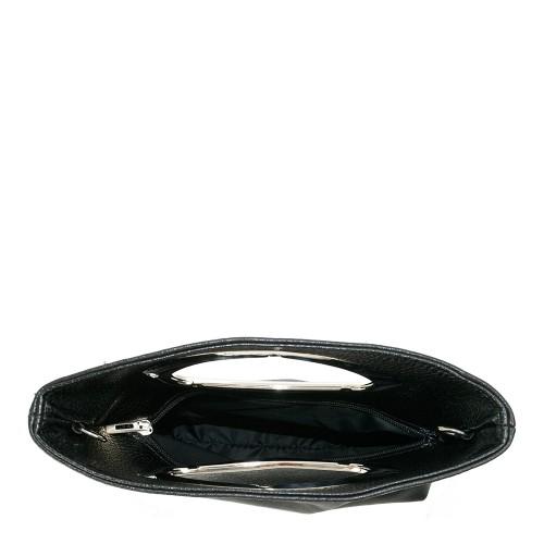 Gentuta piele neagra tip plic GF1103