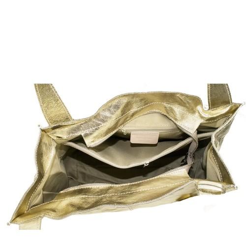 Geanta din piele gold GF1122