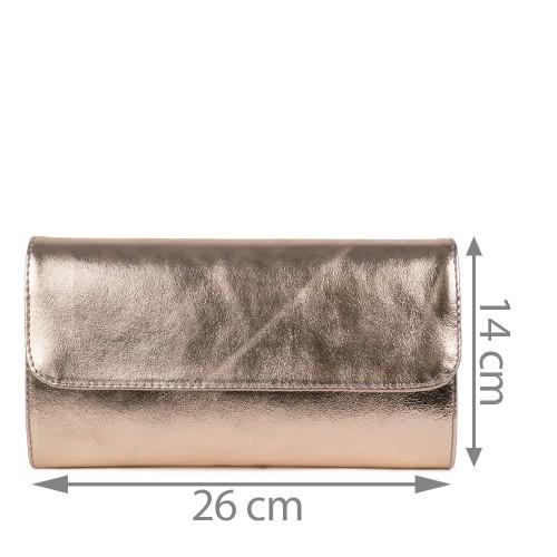 Plic piele roz sidefat GF1159