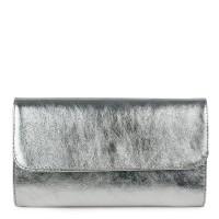 Plic piele argintiu sidefat GF1161