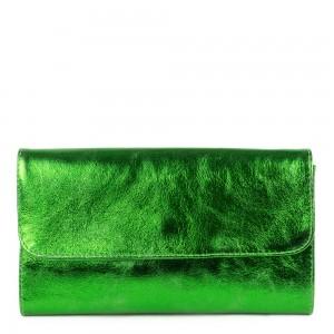 Plic piele verde sidefat GF1162