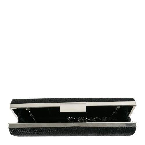 Plic negru cu sclipici GF1247