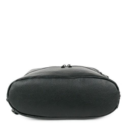 Geanta piele neagra tip rucsac GF1269