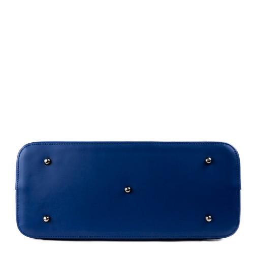 Geanta piele albastru inchis GF1319