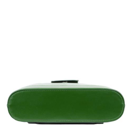 Geanta piele verde GF1325