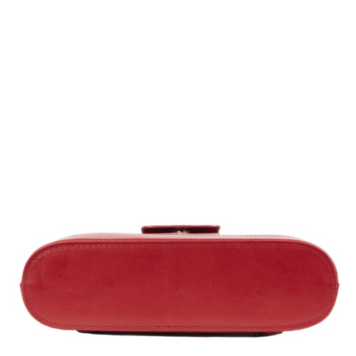Geanta piele rosie GF1326