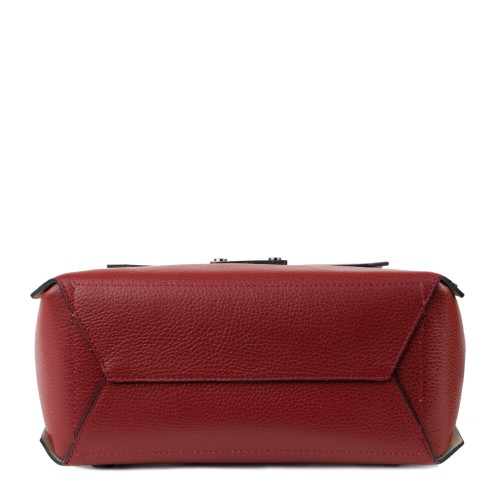 Rucsac tip geanta piele grena GF1350