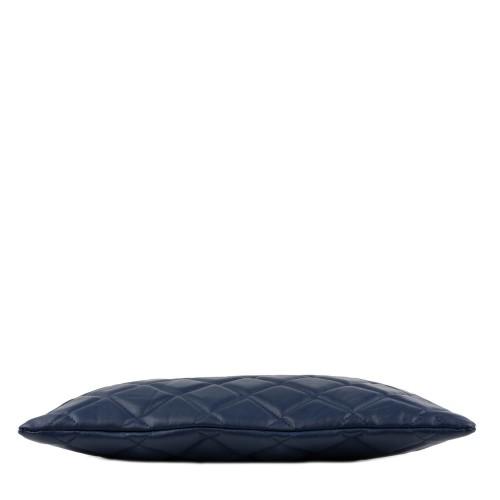 Geanta matlasata piele bleumarin GF1370